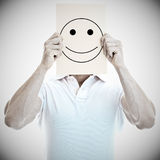 Man with a happy face Royalty Free Stock Photo