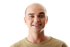 Man with happy facial expression Royalty Free Stock Photos