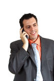 Man happy on the phone Royalty Free Stock Photos