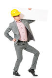 Man in hard hat Stock Photos