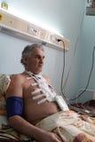 Man has rehabilitation Stock Photos