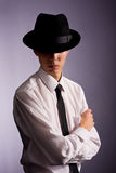 Man with hat Royalty Free Stock Image