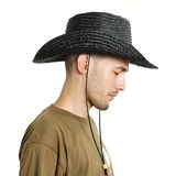 Man in a hat Royalty Free Stock Photography