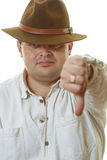 Man in hat Royalty Free Stock Photo