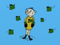 Man have money Royalty Free Stock Image