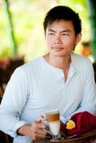 Man Having Coffee Royalty Free Stock Photos