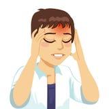 Man Having Headache Royalty Free Stock Images