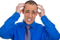 Man having headache Stock Photography