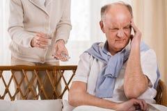 Man having headache Royalty Free Stock Photo