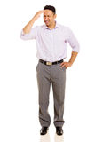 Man having headache Stock Image