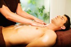 Man having massage Royalty Free Stock Photography