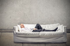 Man having some rest Royalty Free Stock Photography