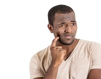 Man having tooth ache Royalty Free Stock Photography