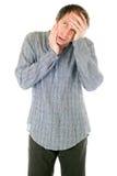 Man having toothache Stock Image