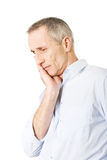 Man having toothache Stock Photography