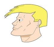 Man head Royalty Free Stock Image