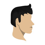 man head profile design Royalty Free Stock Photo