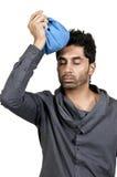 Man with Headache Stock Image