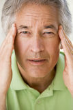 Man With A Headache Stock Image