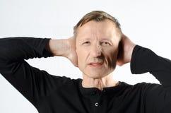Man with headache Royalty Free Stock Photo