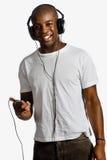Man With Headphones royalty free stock photos