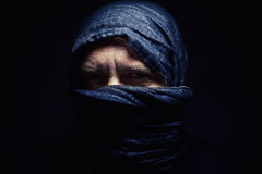 Man With Headscarf Stock Image