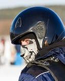 Man in helmet Royalty Free Stock Image