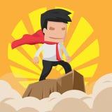 Man Hero Worker Power Business Vector Stock Images