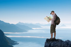 Man hiking Royalty Free Stock Photography