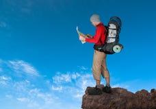 Man hiking Royalty Free Stock Image