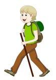 Man hiking Royalty Free Stock Photography