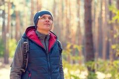 Man hiking Royalty Free Stock Images