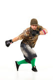 Man in hip hop outfit Stock Photos
