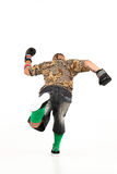Man in hip hop outfit Royalty Free Stock Image