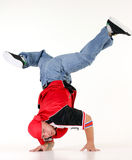 Man in hip hop outfit Royalty Free Stock Photos