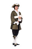 Man in a historical costume Stock Photo