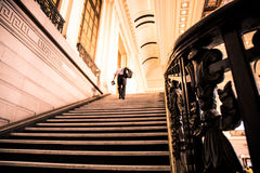 Man in Hoboken Station, New Jersey Royalty Free Stock Photos