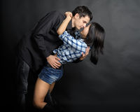 Man hold woman Royalty Free Stock Image