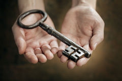 Mystery Key Stock Photography