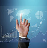 Man holding business Stock Images
