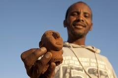 A man holding a figure, Ethiopia Stock Photos