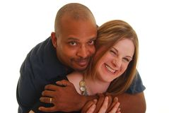 Man holding woman Stock Photos