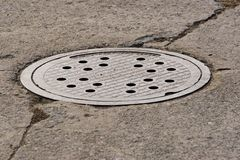 Man hole cover Royalty Free Stock Photo