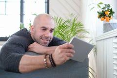 Man at home Royalty Free Stock Photos