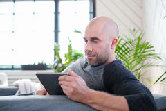 Man at home Stock Photography