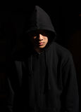 Man in a hood Royalty Free Stock Image