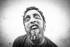 Man horror mask Royalty Free Stock Photo