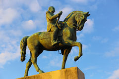 Man on horse Statue - Paris Stock Photography