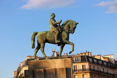 Man on horse Statue - Paris Stock Photos