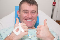 Man in Hospital Stock Images